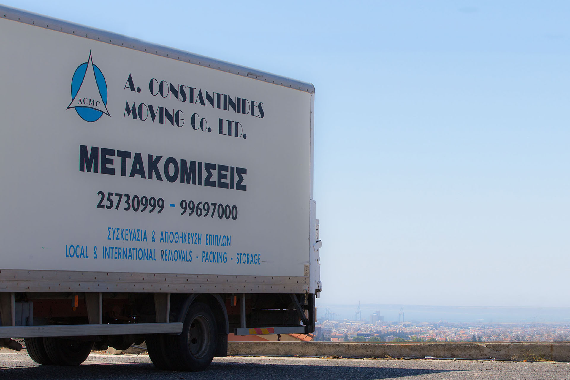 acmc moving services - Constantinides - Cyprus